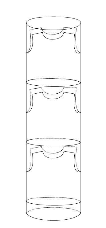 无缝圆筒T恤无拼接剪裁T恤是怎么生产的?
